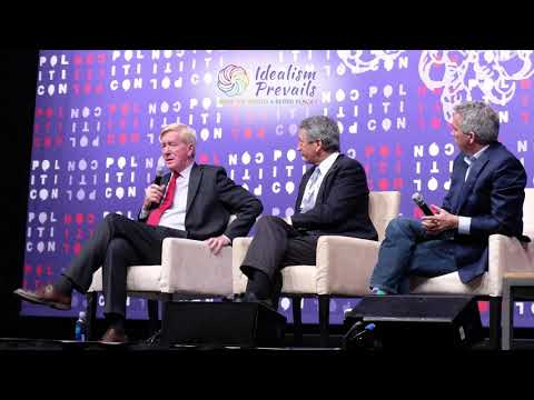 Politicon 2019 - Republican presidential candidate conversation with B. Weld, J. Walsh, M. Sandford