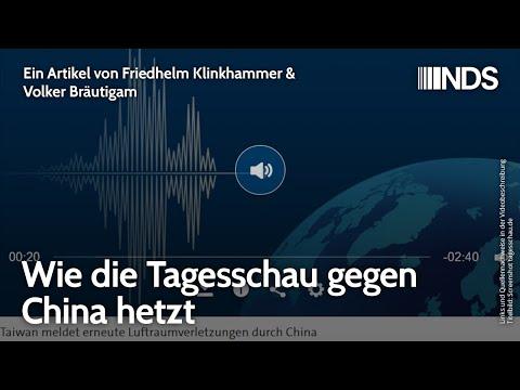 Wie die Tagesschau gegen China hetzt | Friedhelm Klinkhammer & Volker Bräutigam | NDS-Podcast