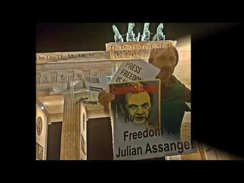 #Candles4Assange #FreeAssange #Berlin