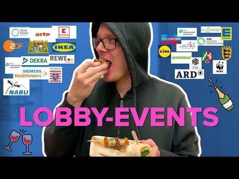 Selbstversuch: Kann man sich in Brüssel auf Lobby-Events satt essen?