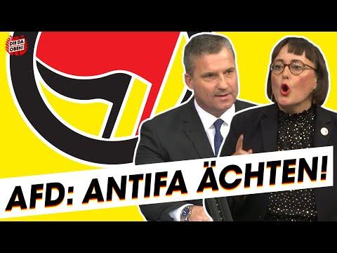 AfD: Null Toleranz für die Antifa!