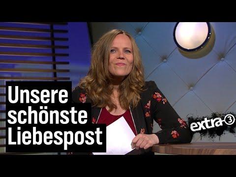 Sarah Bosetti liest Liebesbriefe an extra 3 | extra 3 | NDR