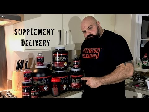 Supplement delivery - Extreme Nutrition