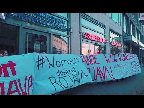 #riseup4rojava - Blockieren, stören, besetzen!