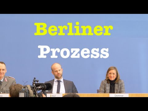 15. Januar 2020 - Bundespressekonferenz | RegPK