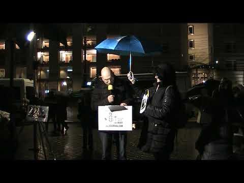 #FreeAssange #Candles4Assange #Berlin 6. Nov 2019 Redebeiträge / Wöchentliche Mahnwache