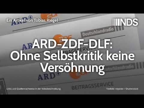 ARD-ZDF-DLF: Ohne Selbstkritik keine Versöhnung   Tobias Riegel   24.10.2019