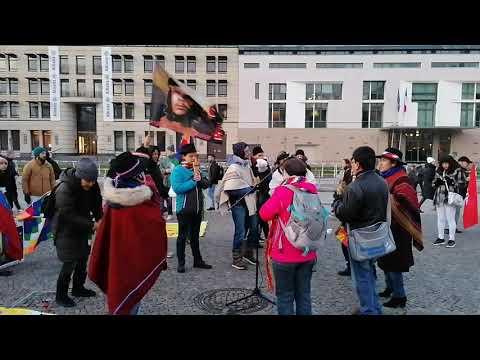 Musica para Paz #Berlin Solidaridad con América Latina - Solidaridad con Bolivia 16.11.19