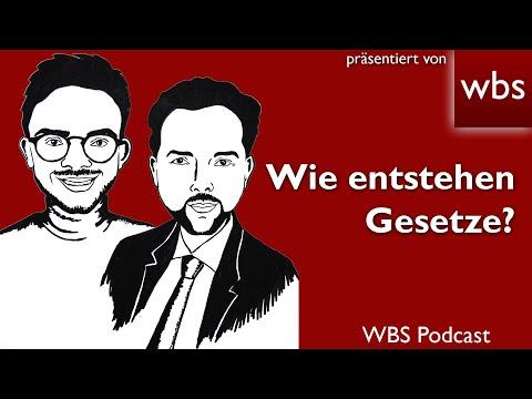 Der neue WBS-Podcast: Wie entstehen eigentlich Gesetze? | Rechtsanwalt Christian Solmecke