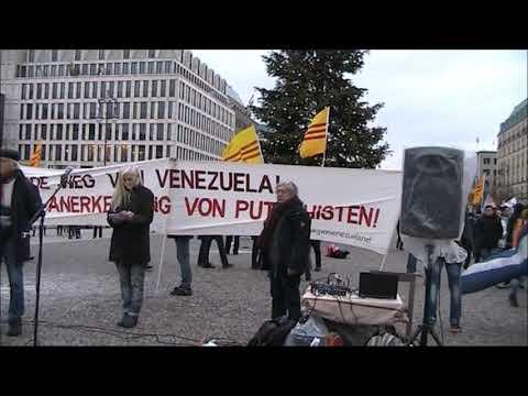 #Berlin 7.12.19 / Rede Volker Wirth / Solidarität mit Lateinamerika #HaendewegvonVenezuela