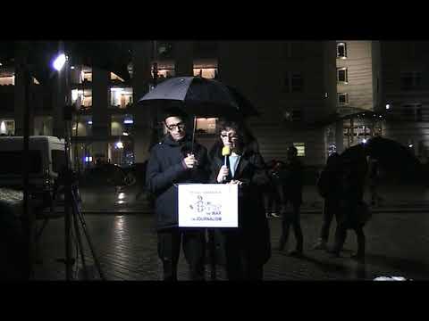 #FreeAssange #Candles4Assange #Berlin 6. Nov 2019 Solidarität mit Julian / Wöchentliche Mahnwache