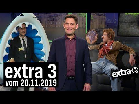 Extra 3 | 20.11.2019 | extra 3 | NDR