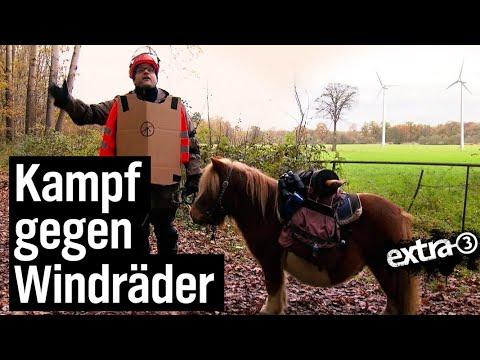 Ron Kieschott - ein Mann kämpft mit allen Tricks gegen Windmühlen | extra 3 | NDR