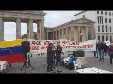 Saludos de #Berlin - Lucha Latinoamerica Anticolonial - Nancy Larenas, PC Chile - Octubre 19