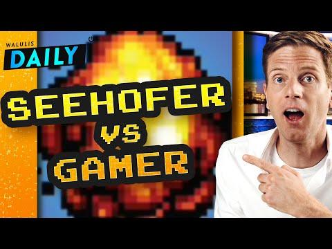 Seehofer vs. Gamer: Die aktuelle Fail-Debatte | WALULIS DAILY
