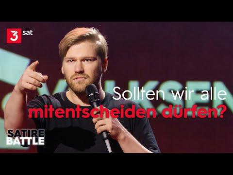 Maxi Gstettenbauer vs. Shahak Shapira | Satire Battle
