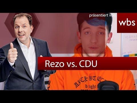RA Solmecke reagiert auf Rezo vs. CDU - dürfen YouTuber alles?