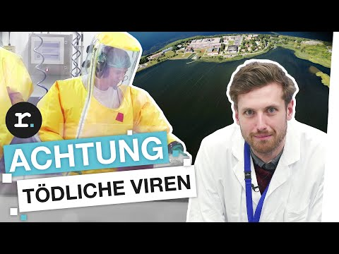 Im Hochsicherheitslabor: Auf der gefährlichsten Insel Deutschlands | reporter