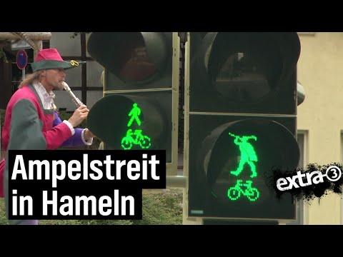 Realer Irrsinn: Rattenfängerampel in Hameln | extra 3 | NDR