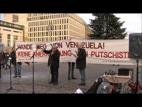 #Berlin Diciembre 7 / Mauro, CP Peru #Berlin / Solidaridad con Latino-America #ManosFueraDeVenezuela