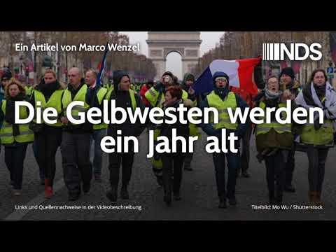 Die Gelbwesten werden ein Jahr alt   Marco Wenzel   NachDenkSeiten-Podcast   28.10.2019