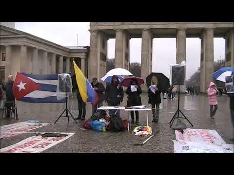 Begrüßung - Saludos de #Berlin Solidaridad Internacional Frente Latinoamerica! 4. Januar.2020