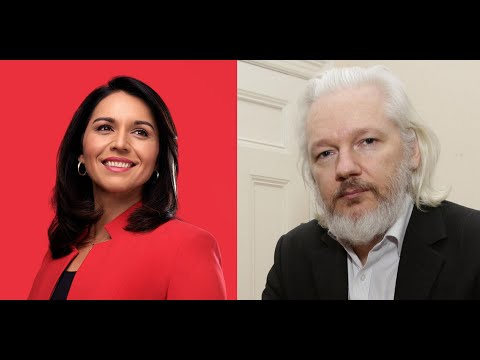 """While Dems scream about """"press freedom,"""" Tulsi defends Assange"""