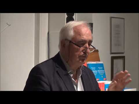 Veranstaltung mit Albrecht Müller, NachDenkSeiten, Gesprächskreis Berlin Charlottenburg 31.10.19