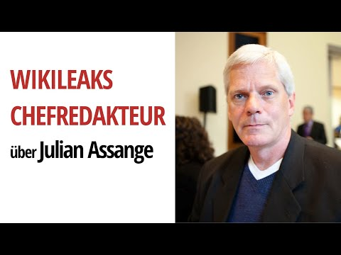 DEUTSCH: Wikileaks-Chefredakteur Kristinn Hrafnsson berichtet über Julian Assange