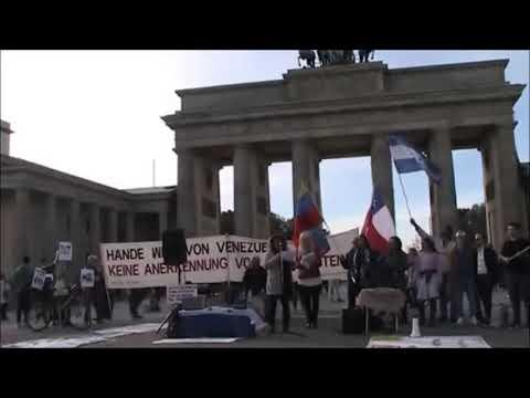 Saludos de #Berlin - Lucha Latinoamerica Anticolonial - Nancy Larenas, PC Chile - Octubre 26