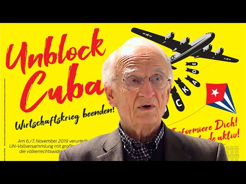 "Norman Paech: ""Unblock Cuba!"""