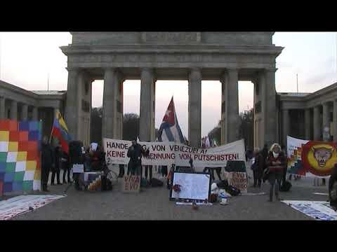 #Berlin Noviembre 23 - Axel, Periodista, Mexico - Solidaridad con Evo Morales #ManosfueraVenezuela