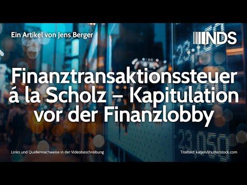 Finanztransaktionssteuer á la Scholz – Kapitulation vor der Finanzlobby | Jens Berger | 11.12.2019