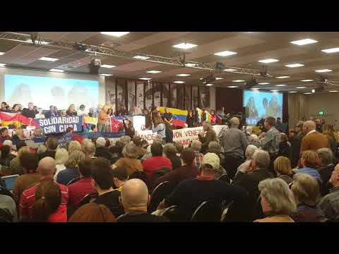 Carolus Wimmer, Internationaler Sekretär KP Venezuelas - RL Konferenz Berlin 2020