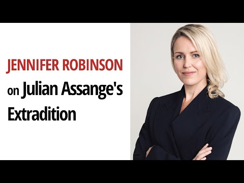 Human Rights Lawyer Jennifer Robinson on the Dangers of Extraditing Julian Assange