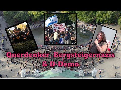 Querdenker, Nazibergsteiger & D-Demo