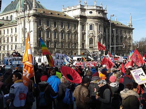 HotSpot Reportage: Demonstration gegen die Münchner Sicherheitskonferenz - AntiSiko 2020