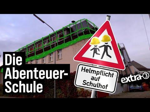 Realer Irrsinn: Die Abenteuer-Schule | extra 3 | NDR