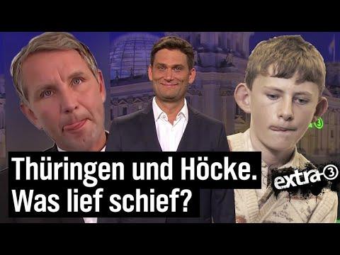 Thüringen-Wahl: Alles muss, nichts kann. | extra 3 | NDR