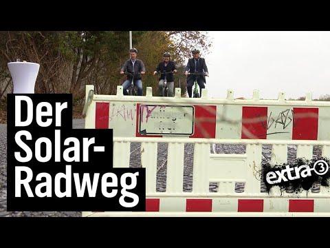 Realer Irrsinn: Solar-Radweg in Erfstadt | extra 3 | NDR