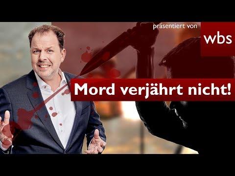 Mord verjährt nicht! Mann nach 32 Jahren verurteilt   Rechtsanwalt Christian Solmecke