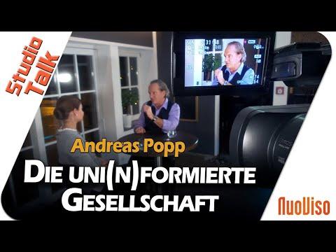 Die uni(n)formierte Gesellschaft - Andreas Popp im NuoViso Talk