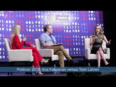Politicon 2019 - Ana Kasparian versus Tomi Lahren on guns, immigration, the wall, Trump & socialism