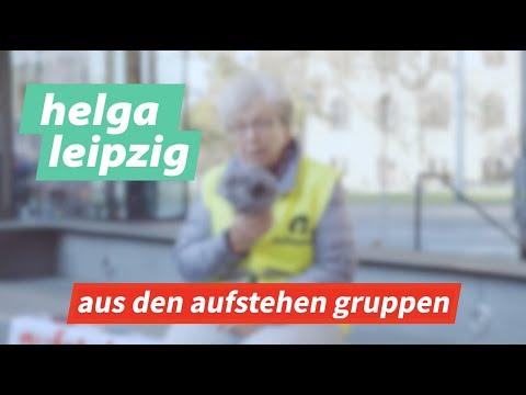 Aus den Aufstehen-Gruppen #1: Helga aus Leipzig