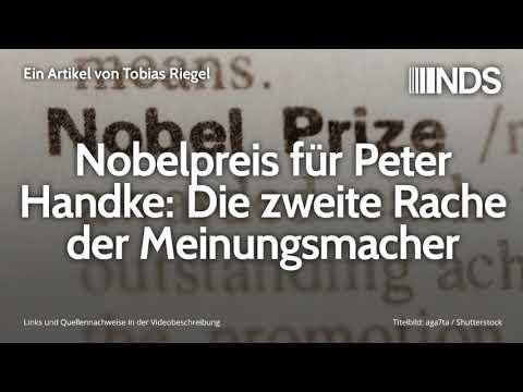 Nobelpreis für Peter Handke: Die zweite Rache der Meinungsmacher | Tobias Riegel | 15.10.2019