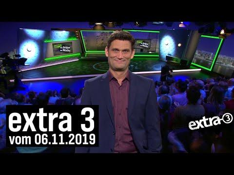 Extra 3 vom 06.11.2019   extra 3   NDR