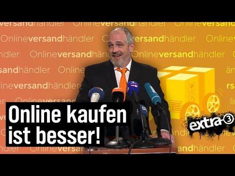 Torsten Sträter: Pressesprecher der Online-Versandhändler   extra 3   NDR