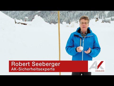 AK-Sicherheitstipp: Was man über Schnee auf Dächern wissen sollte