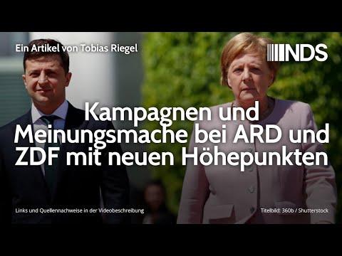 Kampagnen und Meinungsmache bei ARD und ZDF mit neuen Höhepunkten   Tobias Riegel   NDS   11.12.2019