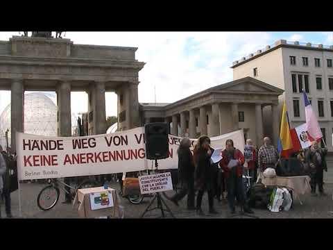Solidarisch - Saludos de #Berlin - Pueblos Latinos Unidos Lucha - Nancy Larenas, PC Chile - Nov. 2